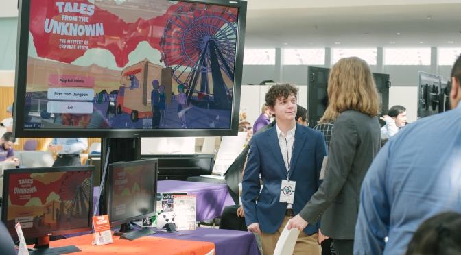 Florida Poly students showcase video games at expo