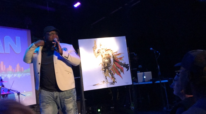 Watch: Rapper Mega Ran Performs Final Fantasy VII song  'Avalanche' at Ongaku Overdrive