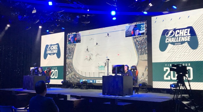 Tampa Bay Lightning brings NHL 20 tourney to Full Sail